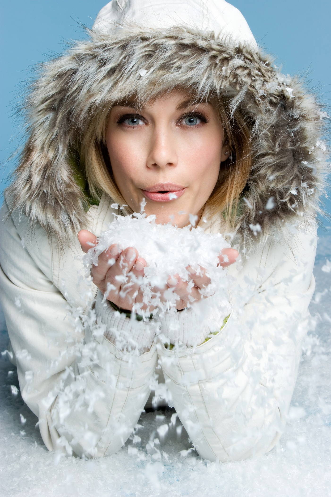 "Say goodbye to ""Winter skin"""